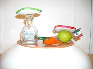 spicy margarita recipe, patron, habanero and lime