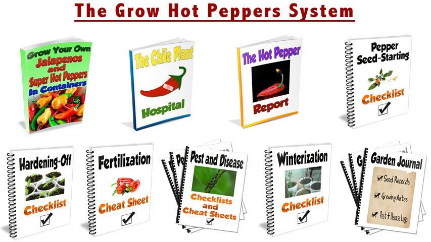The Grow Hot Peppers System