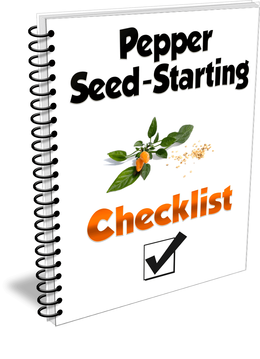Pepper seed-starting checklist