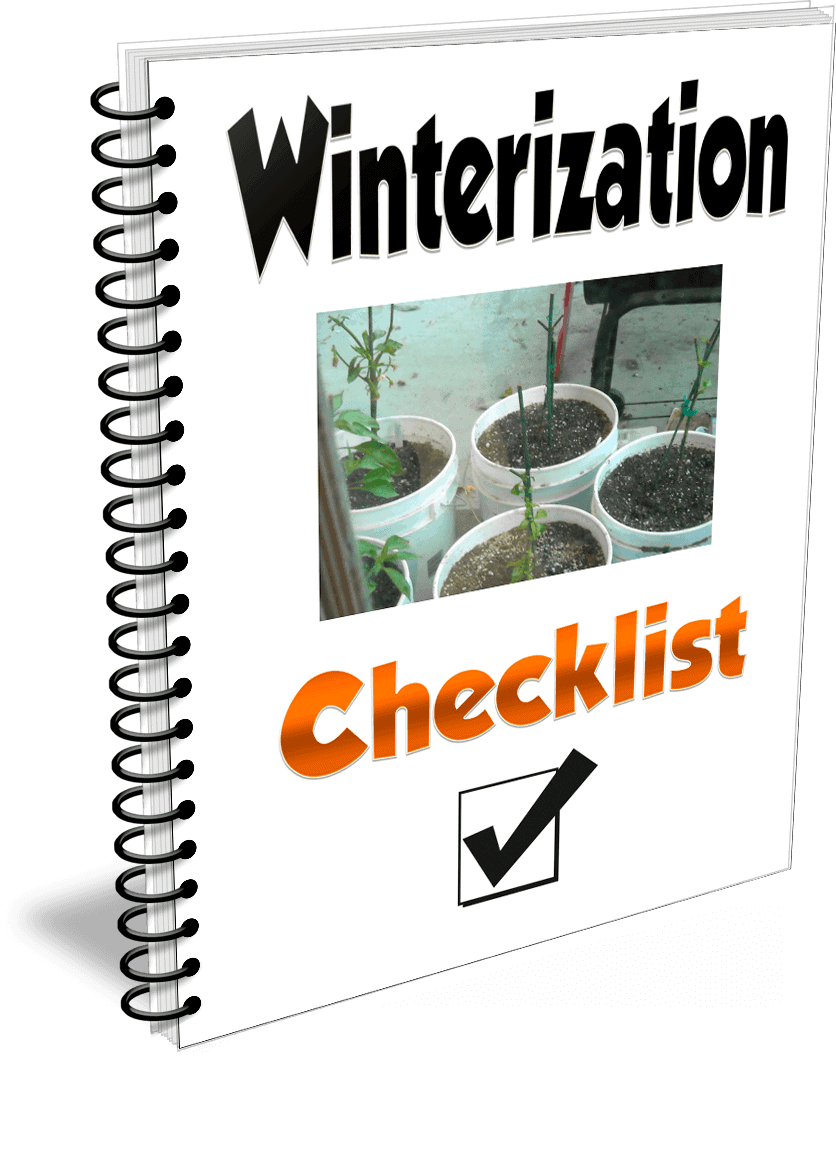 Pepper winterization checklist
