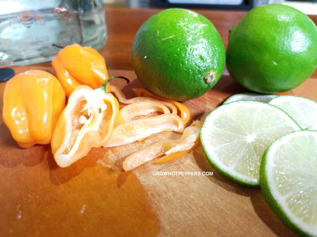 limes and habaneros