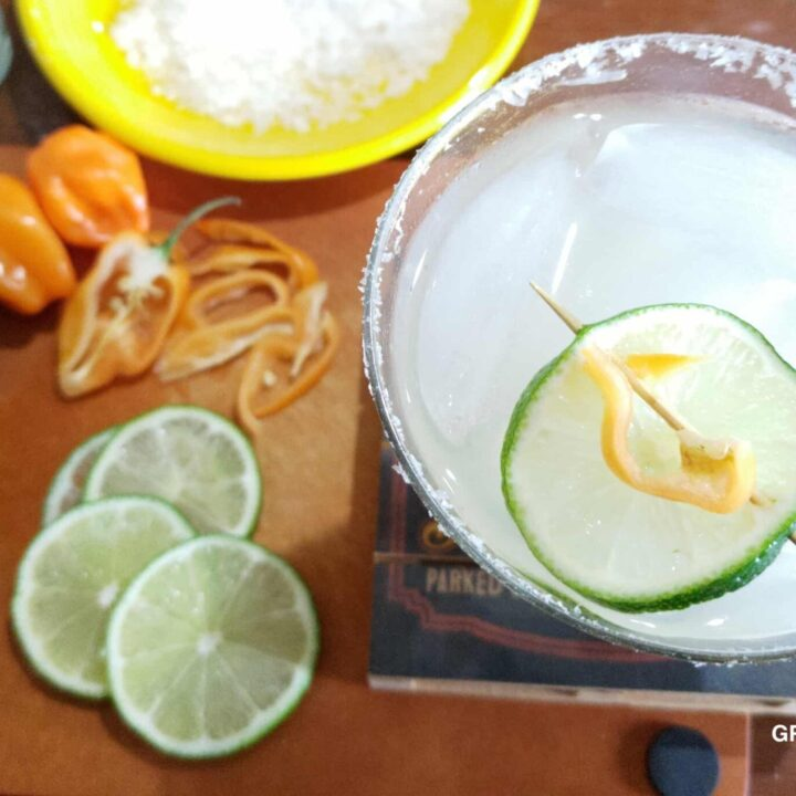 Spicy Margarita Recipe: Habanero, Lime and Patron Tequila