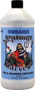 Neptune's Harvest Organic Fish and Seaweed Fertilizer