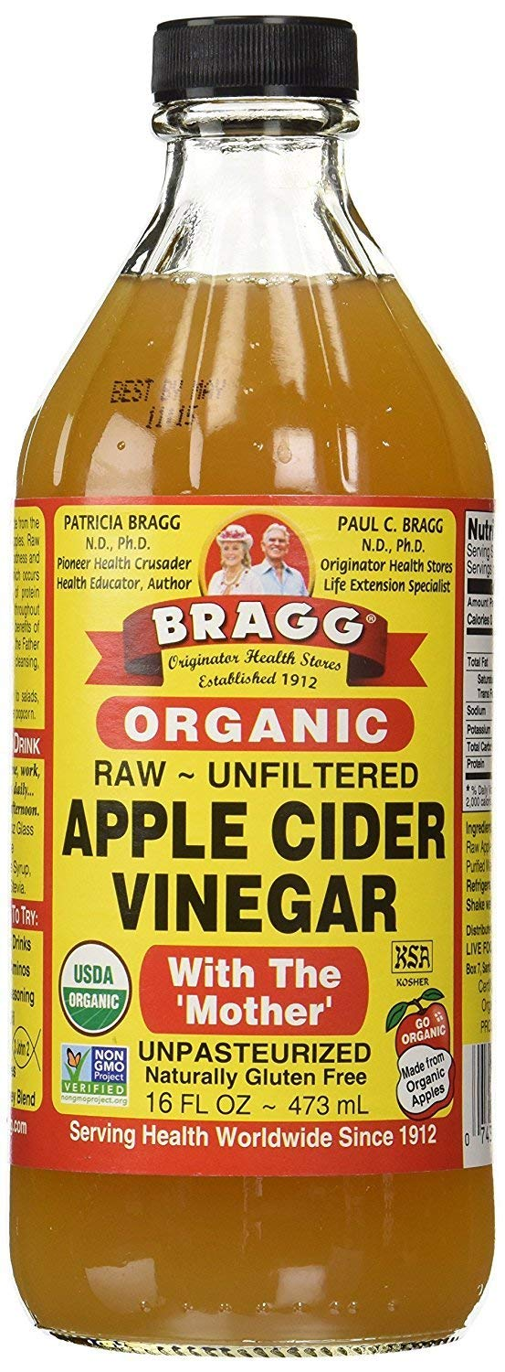 Bragg Organic Apple Cider Vinegar on Amazon