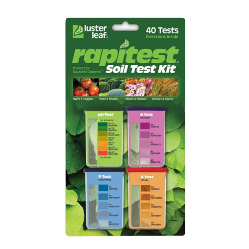 Luster Leaf Rapitest Soil Test Kit on Amazon