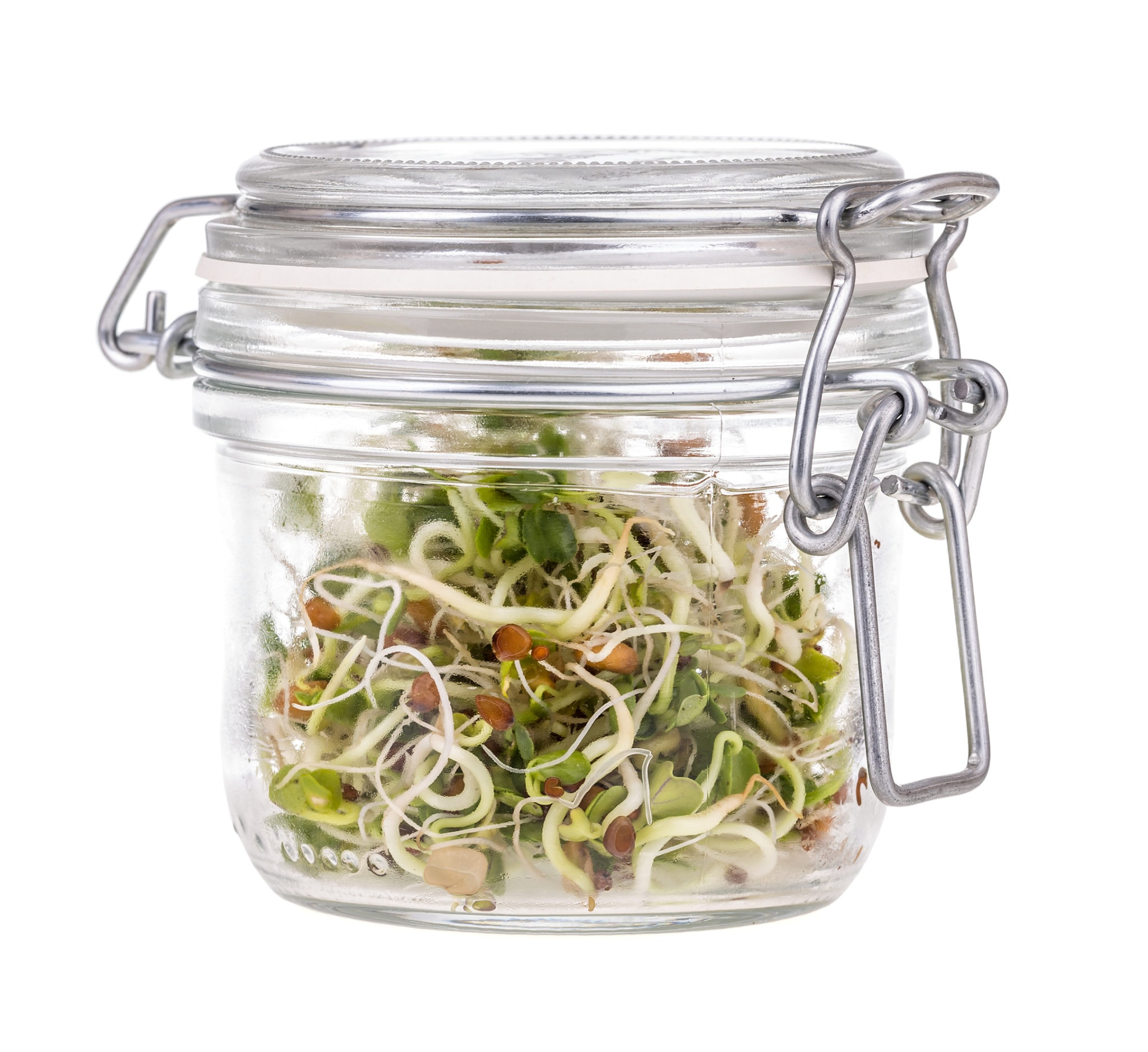 jar of sprouts