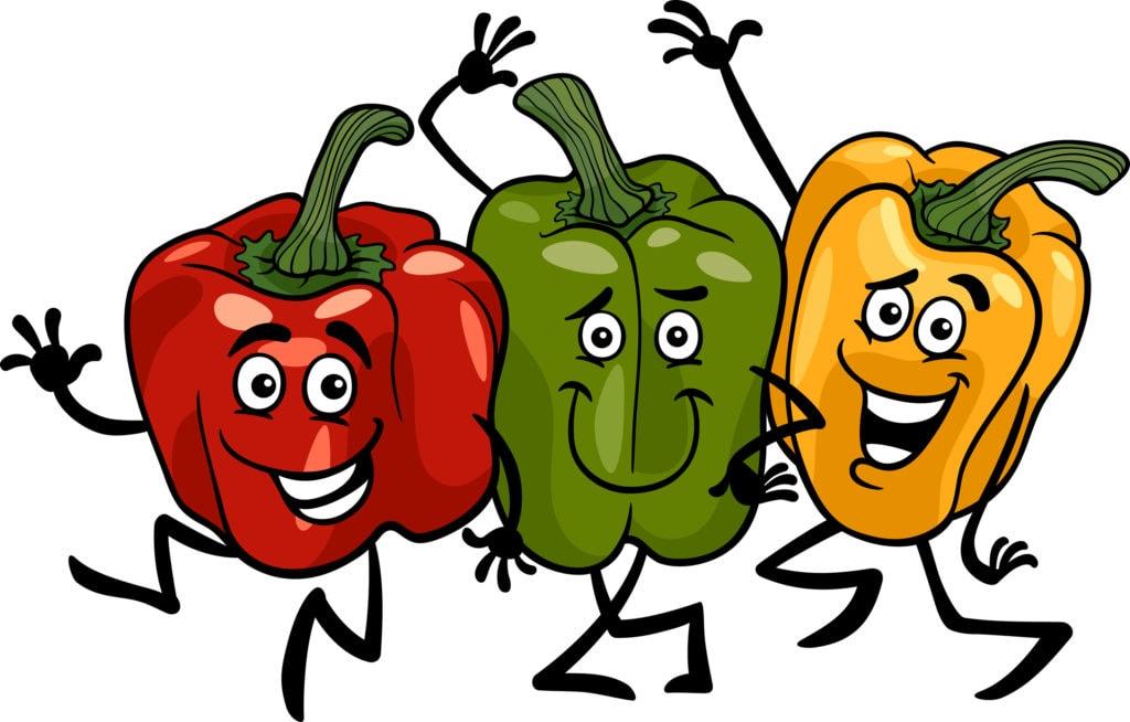 happy news pepper trio