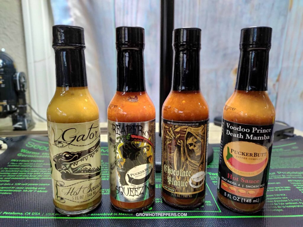 Chocolate Plague and other extreme heat hot sauces
