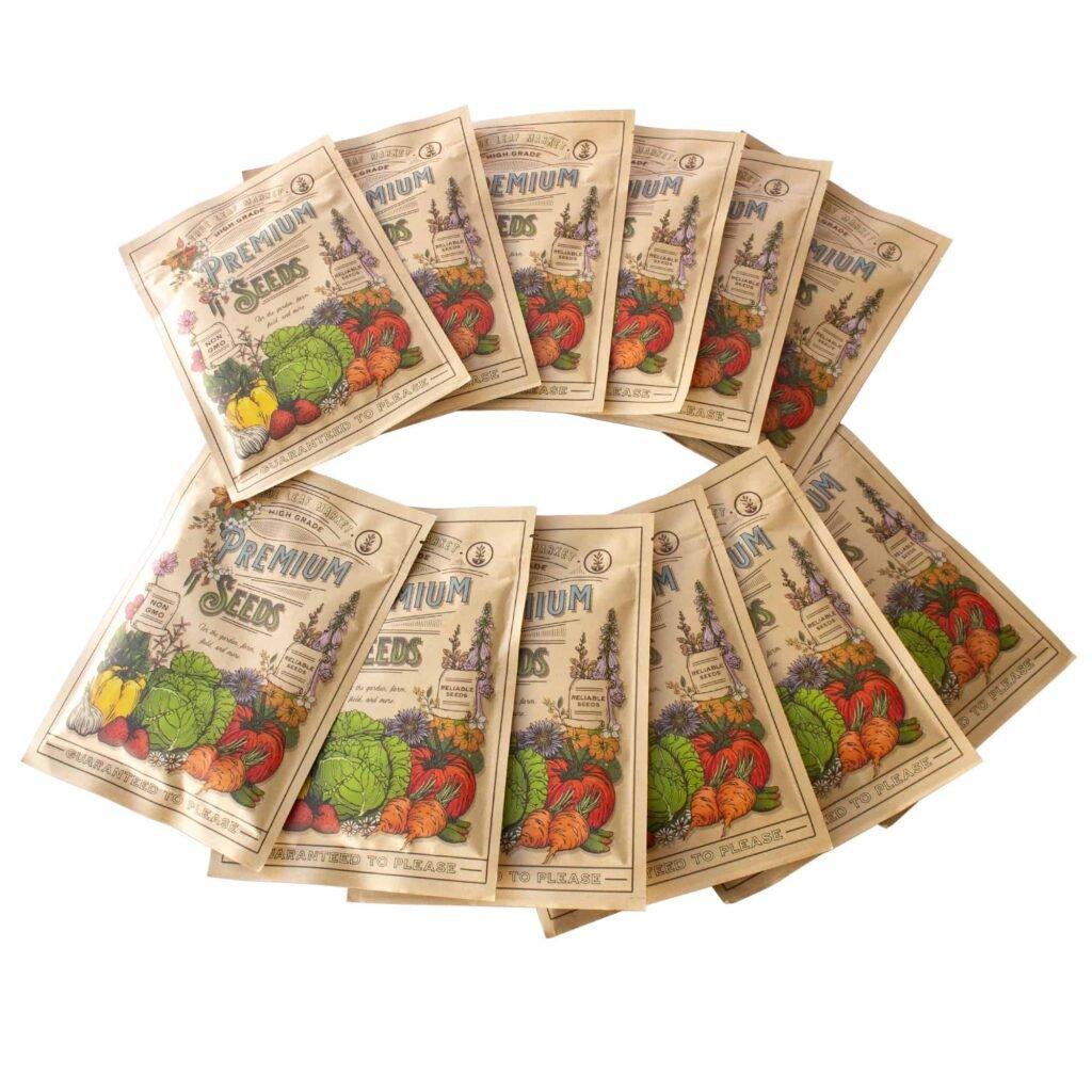 Microgreens seeds assortment on True Leaf Market