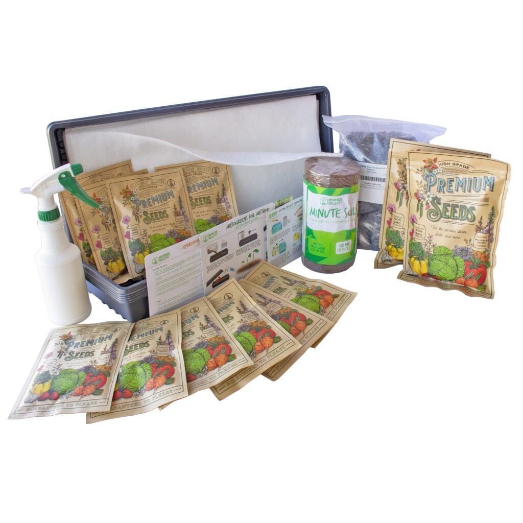 Deluxe Microgreens Starter Kit at True Leaf Market