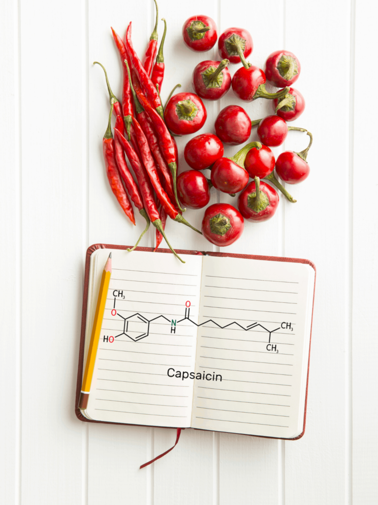 how does the scoville scale work capsaicin chemical formula