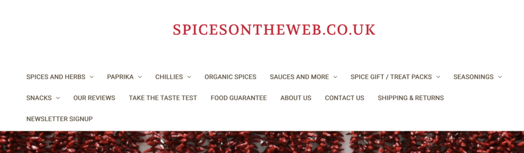 Spices on the Web