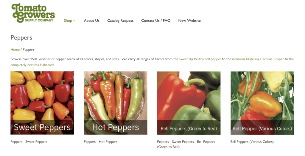 Tomato Grower's Supply Company