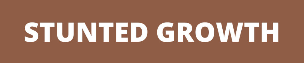 stunted growth banner
