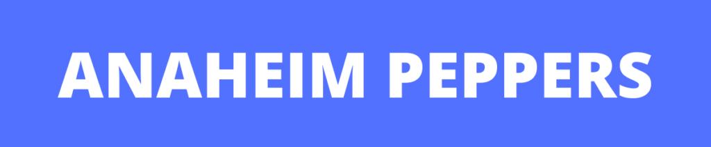 anaheim pepper banner