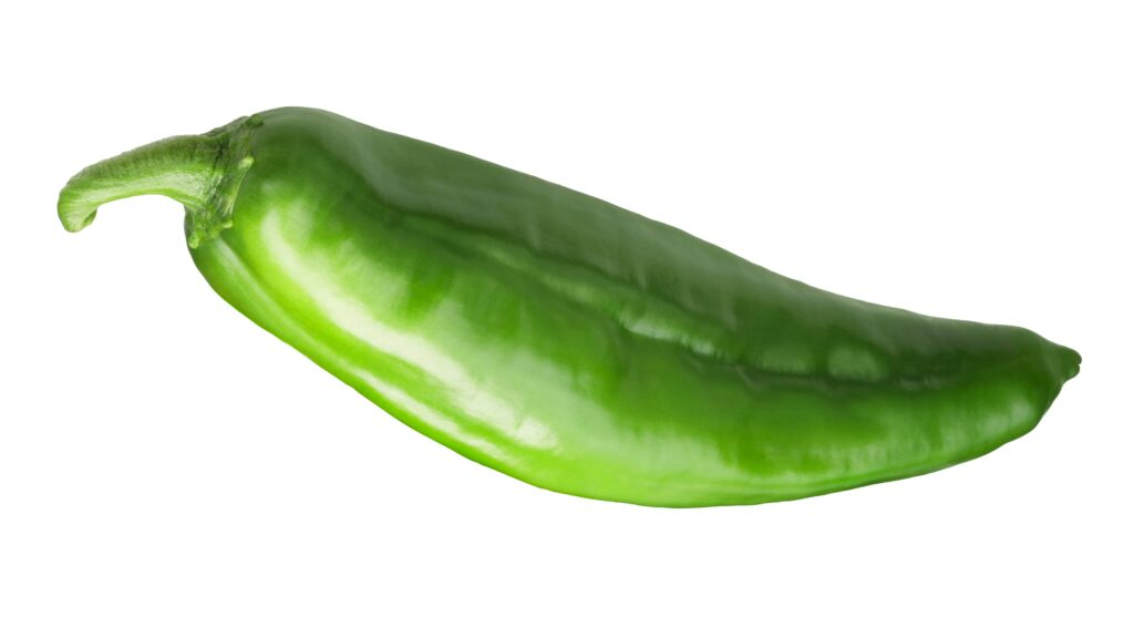 when to pick anaheim peppers