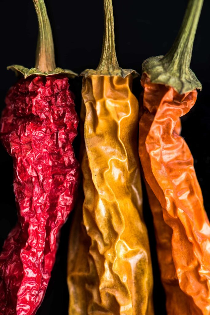 when to pick peppers for drying